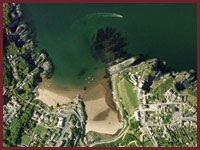 Aberporth from the sky